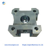 Pedestal de rolamento de aço inoxidável quadrado de usinagem CNC