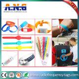 Wristband удостоверения личности медицинского пациента стационара PVC RFID