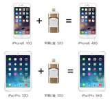 Het Geheugen van de Flits OTG USB, de Aandrijving van de Flits OTG USB voor iPhone, Bevordering USB OTG Pendrive