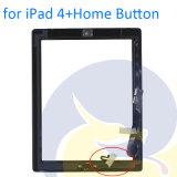 Стекло +Adhesive цифрователя экрана касания таблетки для черноты & белизны iPad 4 4-ых A1458 A1459 A1460