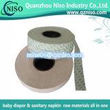 Papel higiênico da liberação das matérias- primas para a fábrica do guardanapo sanitário