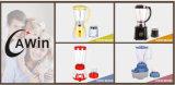 3 velocidades 2 em 1 misturador elétrico do frasco de vidro