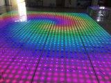 65W 10X10pixels Digital Acrylic Wholesale Portable Floating Dance Floor
