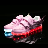 중국 공장 공급 가게 아이 단화에서 직접 유행 LED 단화 최신 판매
