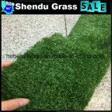 grama artificial da baixa densidade 120stitch para o assoalho interno