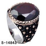 Anel de imitação da prata esterlina da jóia 925 para o homem
