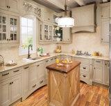Американская современная кухня твердой древесины