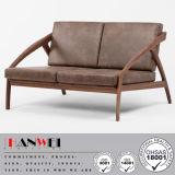 Mobília ajustada do quarto da sala de visitas do sofá moderno da faia do carvalho da noz