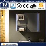 Gabinete leve MDF de venda quente do espelho do banheiro com luz do diodo emissor de luz