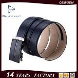 مصنع بالجملة [جنوين لثر] عادة إبزيم علامة تجاريّة حزام سير