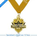Medaglia antica su ordinazione del metallo di modo del Triathlon del banco