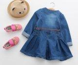 Kind-Kleidung-Form-Kleid scherzt Mädchen Spring& Herbst-Fußleisten