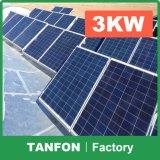фотовольтайческая система высокой эффективности панели солнечных батарей 5kw