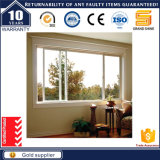 Australia Standard As2047 Double Glass Sliding Window with 4 Panels