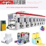Zus-G Serie computergesteuerte Schienen-thermisches Papier-Gravüre-Druckmaschinen