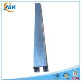 Прорезанная сталь канала распорки горячая окунутая гальванизированная