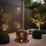 Buon disegno per l'acciaio di Corten della decorazione del giardino con il taglio del laser