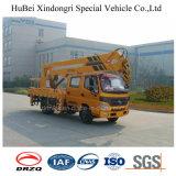 camion élevé de Special de travail de 16m Euro4 Foton