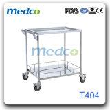Chariot/chariot Emergency de matériel de drogue d'instrument de meubles d'hôpital de S.S