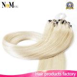 Schleifen-Mikroring-Haar-unterschiedliches Farben-Haar-Extensions-Vorhang-Keratin-Haar