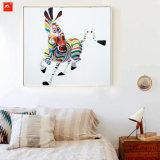 Peinture abstraite colorée de dessin-modèle
