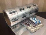 Papel de aluminio farmacéutico de Ptp de la aleación 8011 de Hary