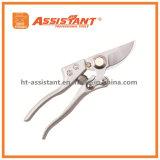Перепуск покрынный кромом Pruners ножниц сада с выкованными алюминиевыми ручками