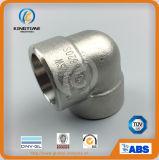 ASME B16.11 Ss interruptor do cotovelo de 90 graus forjou o cotovelo (KT0530)