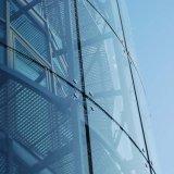 6.38-30mm закаленное стекло здания прокатанного стекла плоское