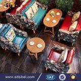 2017の新しい到着の喫茶店の家具の現代コーヒー椅子およびコーヒーテーブル
