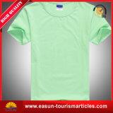 T-shirt com impressão, t-shirt da promoção dos homens penteados 100% do algodão da linha aérea