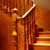 Disegno di legno della scala a spirale per la Camera (GSP16-006)