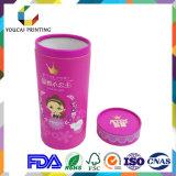 Boite d'emballage ronde en carton robuste pour la crème de bain