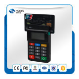 Terminal mobile sans contact de paiement de Bluetooth de contact de Msr de support (HTY711)