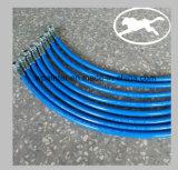 Tubo flessibile grigio dello spruzzo con il coperchio di TPU