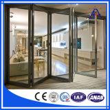 Nuevo perfil de aluminio de la protuberancia del diseño ISO9001 para el marco de ventana