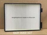 Peças de automóvel 6431 9069 filtro de ar de 927 cabines para BMW E39