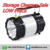 Lanterna solare di campeggio ricaricabile di prezzi bassi 5800