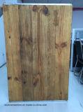 Madera de pino sólida de madera del ladrillo bloque de paletas