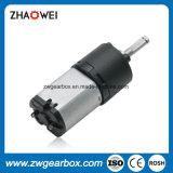 6V de Motor van het Toestel van de Vermindering van het Voltage van de classificatie met de Versnellingsbak van de Schacht van het Metaal