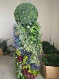 Statua artificiale della sfera del Topiary dell'erba per la decorazione