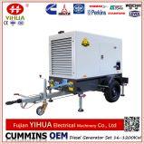Aanhangwagen! Opgezet met Diesel van Cummins van de Aanhangwagen van Wielen Draagbare Elektrische Generator