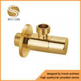 Válvulas de ângulo masculinas da linha de Bsp da válvula de bronze