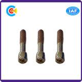 Штемпелюющ части гальванизировал Pin уплотнения поперечного вала головки цилиндра/винт