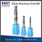 Edvt 2fluteのCNC機械のためのアルミニウム端製造所の切削工具