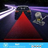 Venta caliente 8V-36V LED láser automático luz de niebla Waning lámpara para la lámpara de cola Láser de coches LED luz de niebla