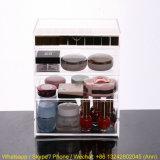 Casella cosmetica acrilica su ordinazione con 3 cassetti