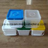 ведро квадрата качества еды 5L пластичное с ручкой