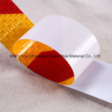 Rote und weiße Belüftung-Streifen-Vorsicht-reflektierender Klebstreifen (C3500-S)