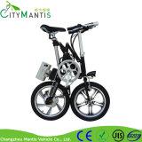 vélo électrique de pouvoir de vélo du magnésium 16inch pliage en aluminium d'alliage de mini